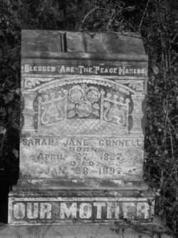 Sarah Jane <i>Clark</i> Connell