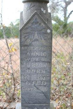 Annie Narcissa <i>Connell</i> Brown