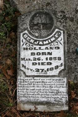 Benjamin Francis Ben Holland
