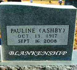 Pauline <i>Ashby</i> Blankenship