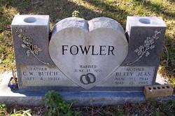 Betty Jean <i>Smith</i> Fowler