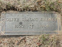 Olive Mary <i>Simons</i> Cheney