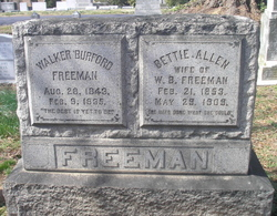 Walker Burford Freeman