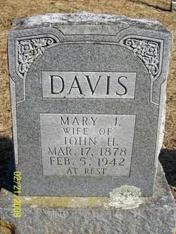 Mary Jane <i>Taylor</i> Davis
