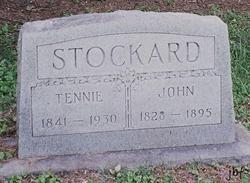 Mary Tennessee Tennie <i>West</i> Stockard