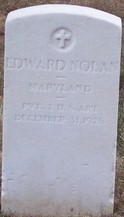 Private Edward Nolan