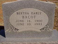 Bertha Eldora <i>Early</i> Bacot