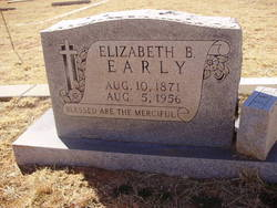 Elizabeth Belle <i>Morgan</i> Early