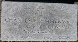 Corp Charles E Zimmerman