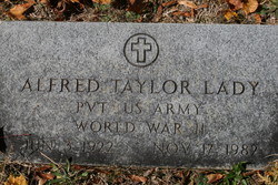 Alfred Taylor Lady