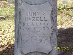 John Samuel Hazell