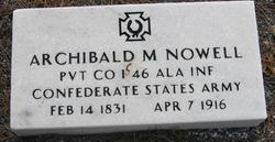 Archibald Marion Nowell