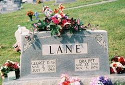 George Decatur Dee Lane, Sr