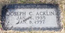 Joseph Charles Acklin
