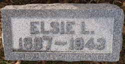 Elsie L <i>Dieterich</i> Bowers