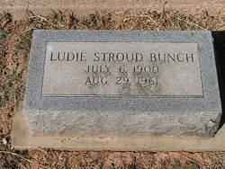 Ludie <i>Stroud</i> Bunch