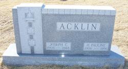 Joseph Claire Acklin