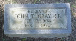 John Thomas Gray, Sr