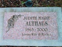 Judith Marie <i>Bailey</i> Althaus