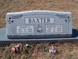 Martha Florence <i>Bookout</i> Baxter