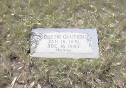 Elizabeth Bettie <i>Courington</i> Gautier