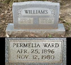 Permelia <i>Ward</i> Williams