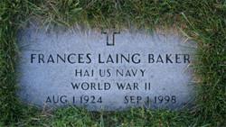 Frances Laing <i>Lawler</i> Baker