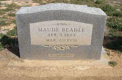 Maude <i>Chastain</i> Beadle