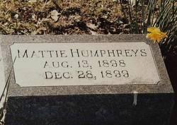 Mattie Humphreys