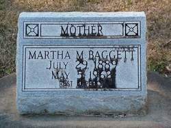 Martha M. <i>Lewis</i> Baggett