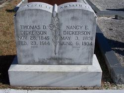 Nancy Eveline <i>Dobbs</i> Dickerson