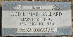Addie Mae <i>Cravens</i> Ballard