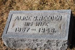 Alice B. <i>Reeder</i> Barber