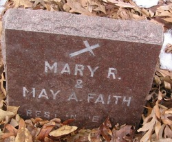 Mary R. <i>Saunders</i> Faith