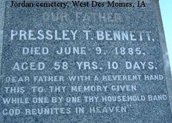 Pressley T. Bennett