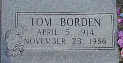 Tom Robert Borden
