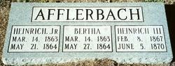 Heinrich Afflerbach, Jr