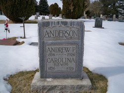 Caroline <i>Johnson</i> Anderson