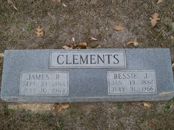 Elizabeth Janet Bessie <i>Merriman</i> Clements