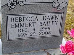 Rebecca BECKY <i>Emmert</i> Bailey