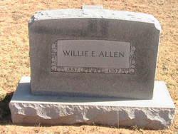 Willie E <i>Green</i> Allen