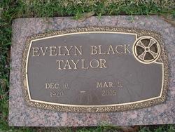 Evelyn <i>Black</i> Taylor
