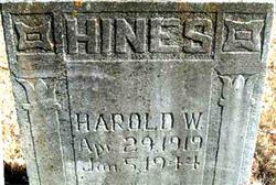Harold William Hines