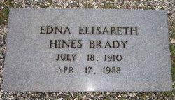 Edna Elisabeth <i>Hines</i> Brady