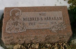Mildred Barbara <i>Schafer</i> Abraham