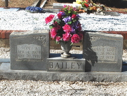 Minnie Lou <i>Scruggs</i> Bailey