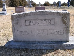 Laura Emma <i>Tarpley</i> Boston