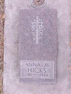 Anna M Hicks
