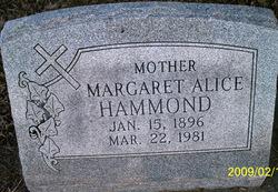 Margaret Alice <i>Hunt</i> Hammond
