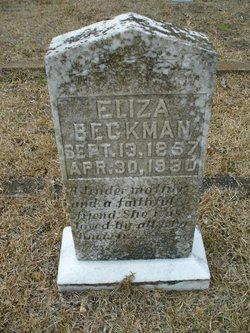 Eliza <i>Simpson</i> Beckman